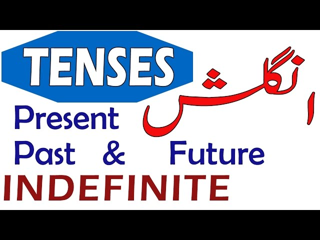 Present Indefinite Tense in Urdu With PDF Book