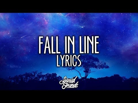 Christina Aguilera & Demi Lovato - Fall In Line (Lyrics / Lyric Video) mp3