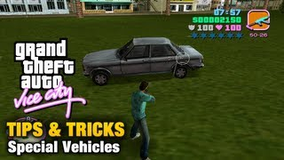 GTA Vice City - Tips & Tricks - Special Vehicles