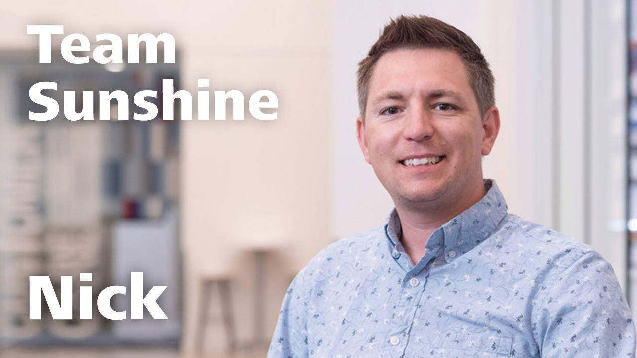 Meet Team Sunshine: Nick Korth