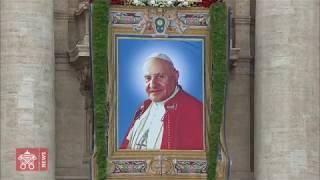 Há cinco anos, Francisco canonizava João Paulo II e João XXIII