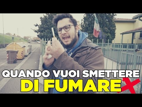 Il video per smettere di fumare