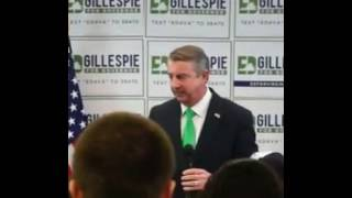"Gillespie Says ""Lousy"" 2% Growth ""Infuriating,"" Yet It Was FAR Worse Under a GOP Governor"