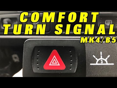 How to add Comfort Turn Signals to a Volkswagen