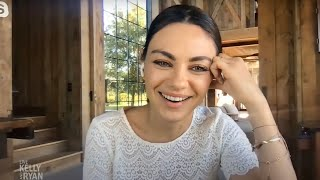 Mila Kunis full interview with Kelly and Ryan