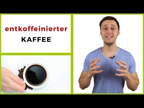 Entkoffeinierter Kaffee - gesund oder ungesund?