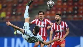 Olivier Giroud bicycle kick Goal vs Atletico Madrid