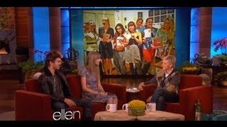 Zac, Taylor and Ellen talk Valentine's Day