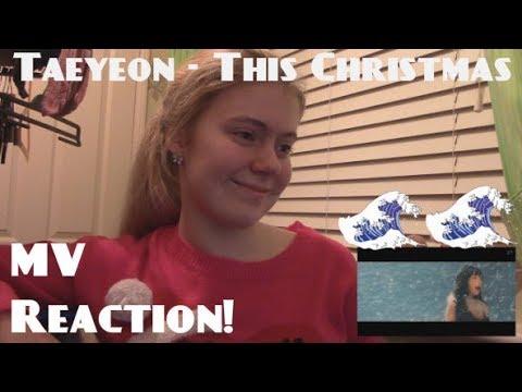 Taeyeon/태연 - This Christmas MV Reaction - Hannah May [lots of crying ensues]