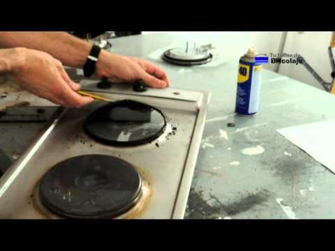Cómo reparar la placa eléctrica de la cocina