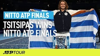 Tsitsipas Beats Thiem To Take The Title | Nitto ATP Finals | ATP