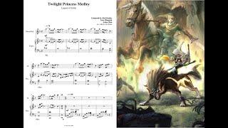Twilight Princess Medley For Flute And Piano