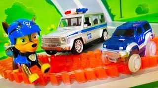 Мультики про машинки все серии. Щенячий патруль и Полицейские машинки - Спасатели. Видео для детей