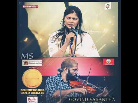 💕 96 Movie 💕 Kaathalae Kaathalae Live Performance By Legends Chinmayi & Govind Vasantha 🎶