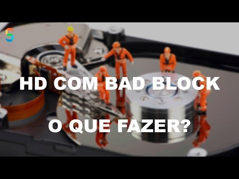 HD Com Bad Block e Agora Como Proceder?