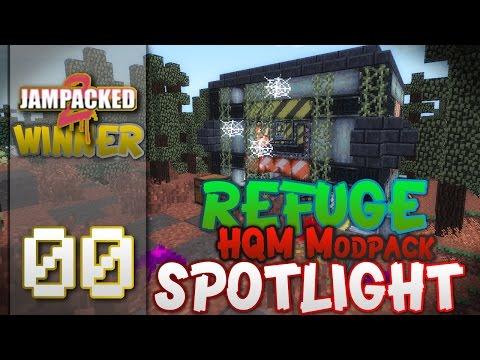 "Minecraft - ""REFUGE""- FTB -HQM - ""MOD PACK SPOTLIGHT"" - EP 00"