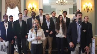 "Darden Cold Call Chorus Fall 2016 First Coffee Concert - ""Closer"" Parody"