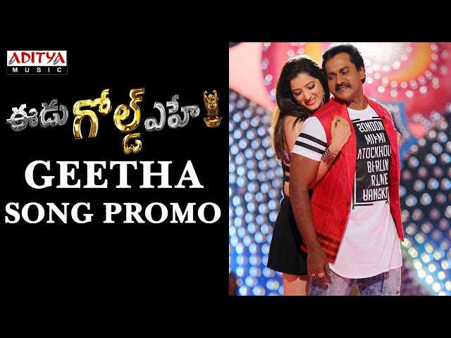 Geetha Full Video Song HD | EEdu Gold Ehe Movie Songs 2016 | Sunil