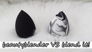 POJEDYNEK GĄBEK: BeautyBlender VS blend it!