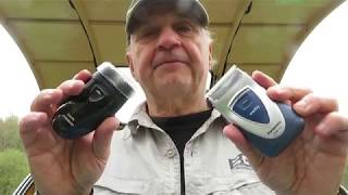 Off Grid Shaving with Norelco Phillips and Panasonic AA battery shavers