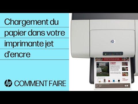 Chargement du papier dans votre imprimante à jet d'encre