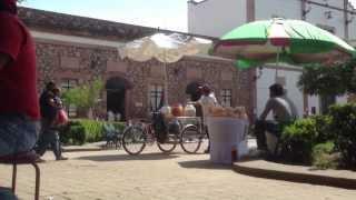 preview picture of video 'Zitacuaro Michoacan. Vendedor vendiendo aguas frescas'