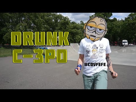 C-3PO WASTED | Clapham Common Skatepark