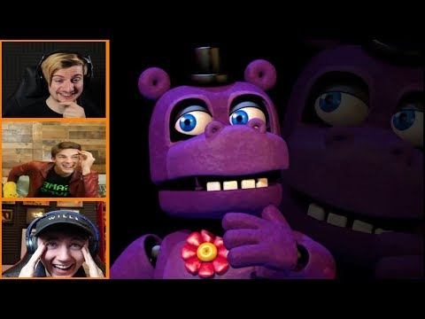 Let's Players Reaction To The Mr.Hippo Jumpscare/Story | Fnaf Ultimate Custom Night