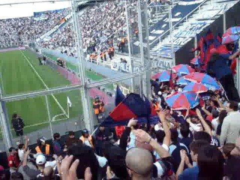 """Entra la banda en Beleshh - 04/10/2008 ( La Sur - Once )"" Barra: La Gloriosa Butteler • Club: San Lorenzo • País: Argentina"