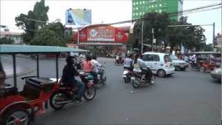 preview picture of video 'Phnom Penh Traffic'