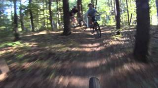 Video of some of the school forest trails.
