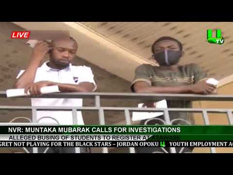 NVR: Muntaka Mubarak Calls For Investigations Into Alleged Busing Of Students To Register At Asawase