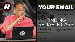 Your Email: The differences in car reliability ratings | Cooley On Cars