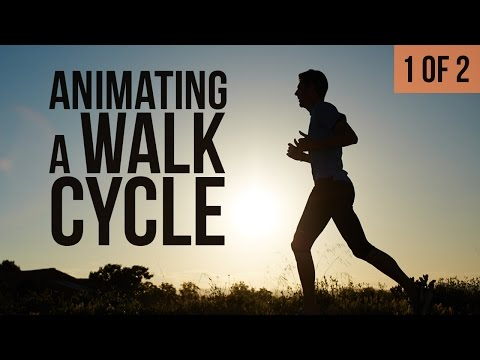 animating a 3d walk cycle tutorial by bloop animation