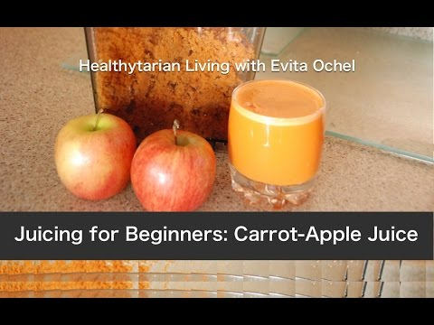 Video A Beginner's Juicing Recipe: Carrot Apple Juice
