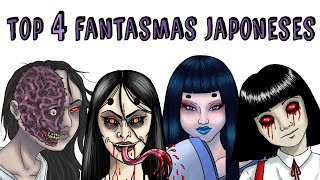 TOP 4 JAPANESE GHOSTS