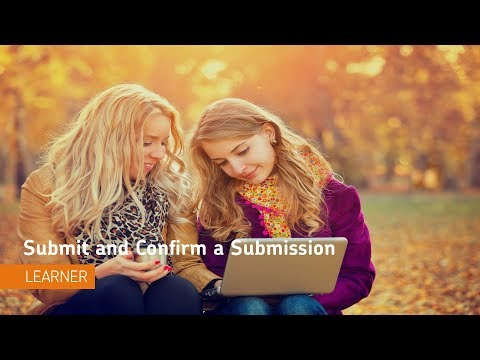 Assignments - Submit and Confirm a Submission - Learner