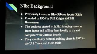 Nike inc internal analysis