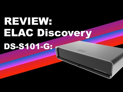 Review: Elac Discovery DS-S101-G audio server/streamer