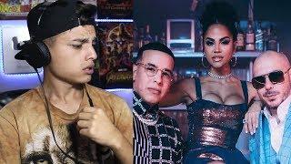 REACCIÓN: Pitbull X Daddy Yankee X Natti Natasha   No Lo Trates (Official Video) Themaxready