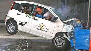 Fiat Panda (2018) 😱 Scores 0 Stars in the Crash Test