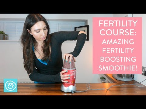 How To Boost Your Fertility With A Smoothie - Fertility Course Bonus | Channel Mum