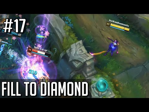 League of Legends Fill to Diamond but I have been blessed with this position again
