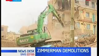 Demolitions at Zimmerman targeting substandard houses in order to avoid calamities