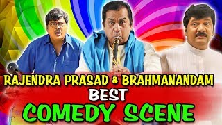 Rajendra Prasad & Brahmanandam Best Comedy Scenes | South Indian Hindi Dubbed Best Comedy Scenes