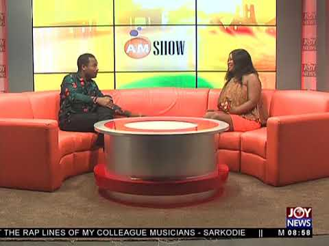 Producing Hit Songs - AM Showbiz on JoyNews (11-5-18)