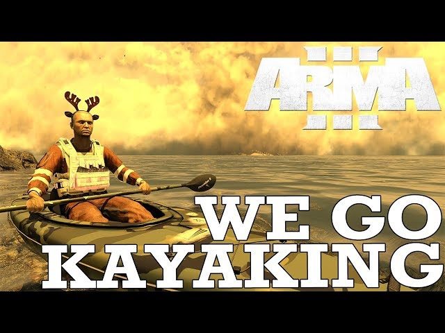 ArmA: We Go Kayaking, Start A Cult & End the World - Fustercluck in ArmA 3