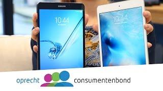 iPad mini 4 vs Samsung Galaxy Tab S2 (Consumentenbond) - dooclip.me
