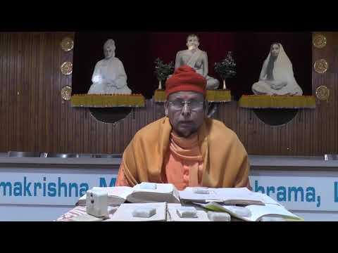 Discourse on the Gospel of Sri Ramakrishna ('Smarana Bhakti') by Swami Muktinathananda Ji Maharaj