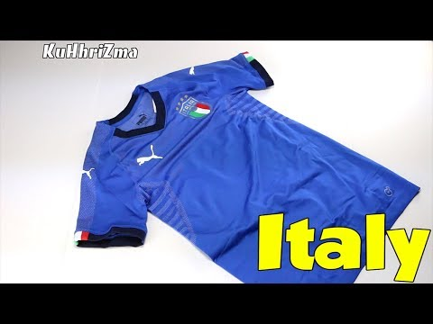 Puma evoKNIT Italy 2018 Home Jersey Unboxing + Review from Subside Sports